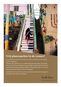 Vrij pianospelen zomercursus